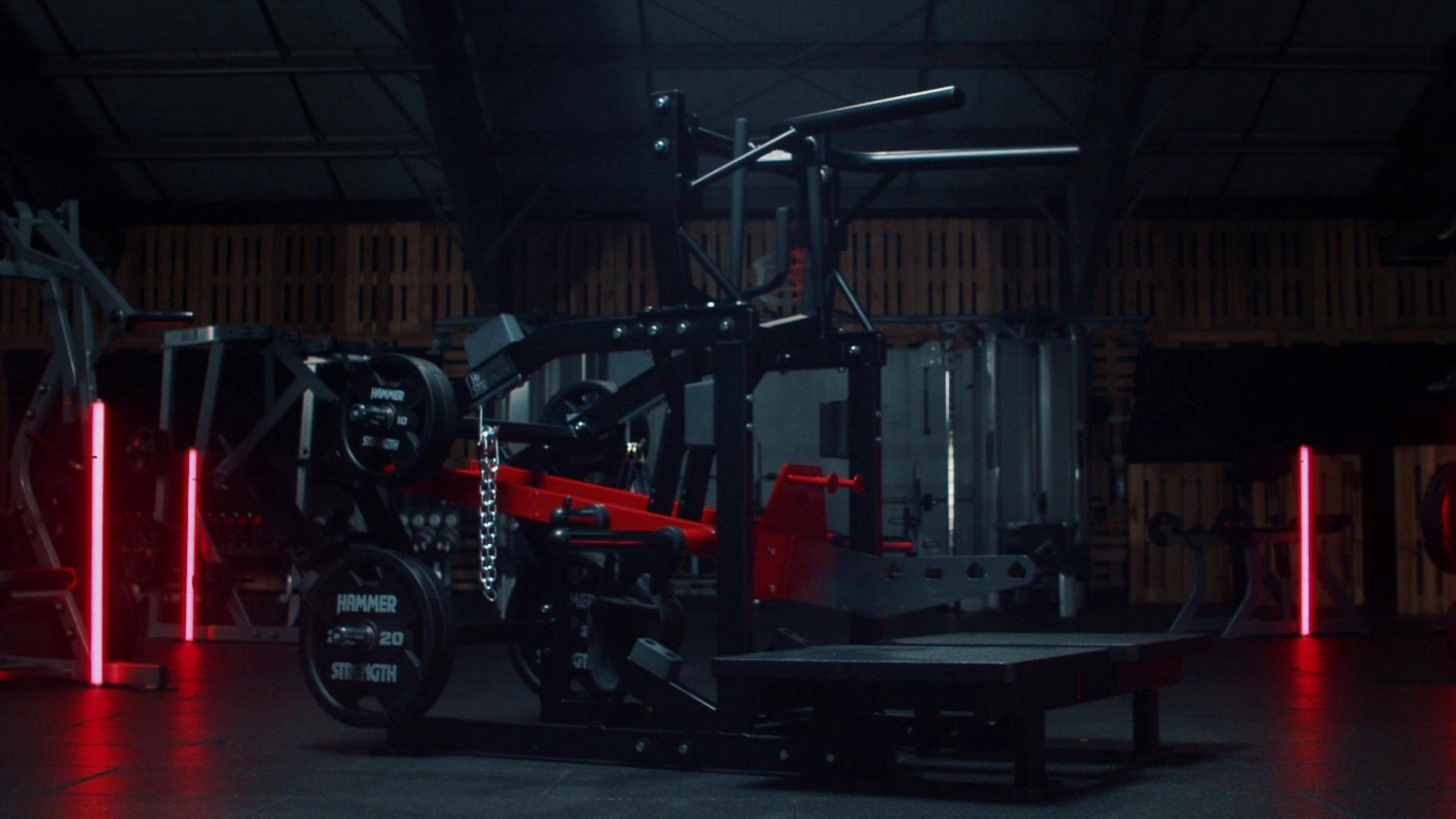 Life Fitness Hammer Strength Belt Squat